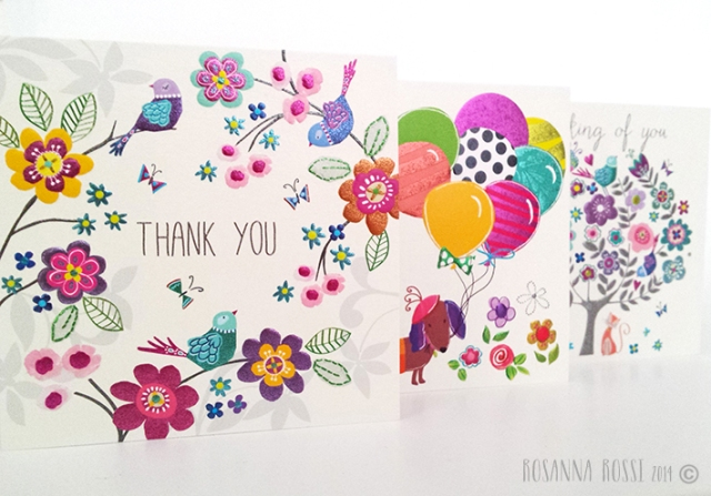Pretty Greeting Cards - Rosanna Rossi