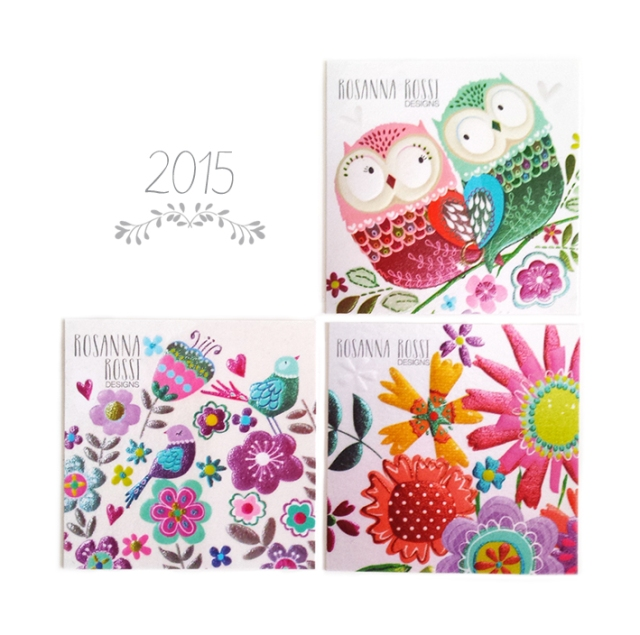 NEW GREETING CARDS - 2015