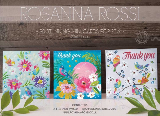 Rosanna Rossi - Mini Cards